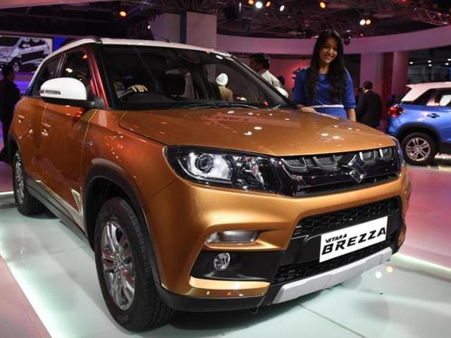 Maruti Suzuki Vitara Brezza,Brezza launched,Vitara Brezza price
