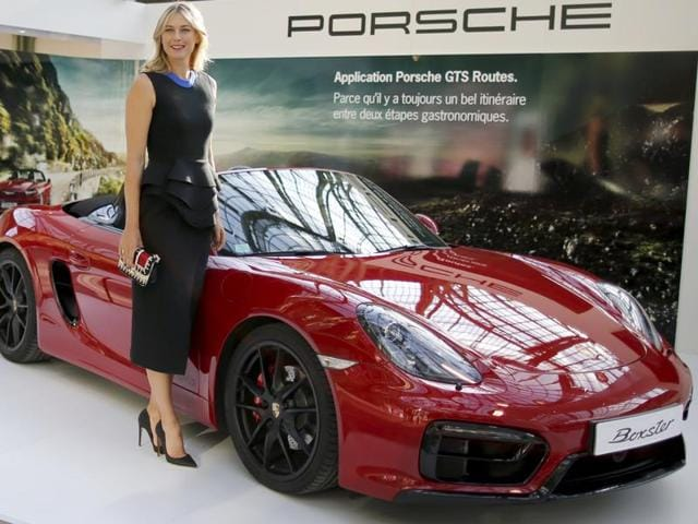 Porsche became the third big-name sponsor to cut ties with Maria Sharapova, joining Nike and TAGHeuer.