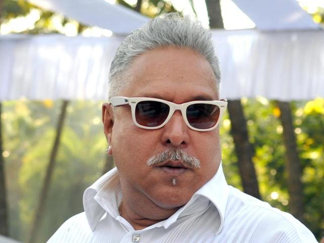 Rajya Sabha MP and chairman of the UB Group Vijay Mallya during the winter session of Parliament.