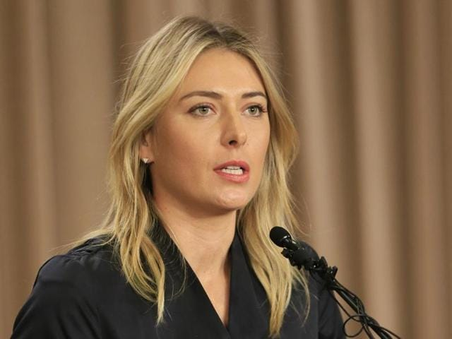 Sharapova lost to Serena Williams in the quarter-finals of the Australian Open in January and has not competed since then.