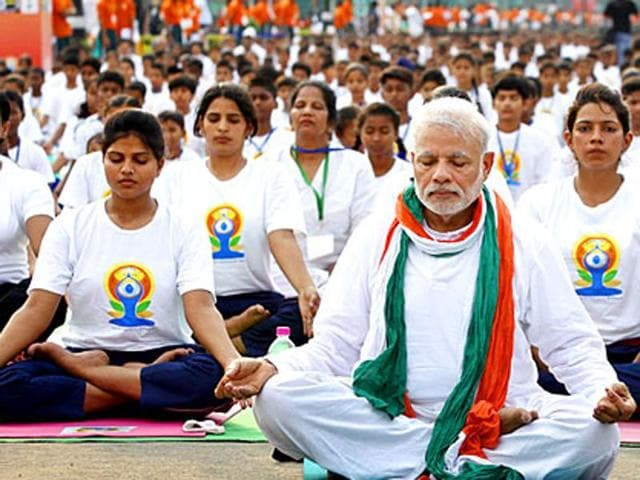 The human resource development (HRD) ministry is boosting Sanskrit universities to encourage students in taking up such courses. A committee on yoga education in universities was set up in January, and is headed by Prime Minister Narendra Modi's yoga guru, professor HR Nagendra.