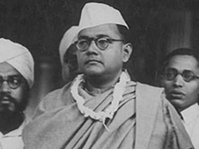 An archival image of Netaji Subhas Chandra Bose. (HT File Photo)