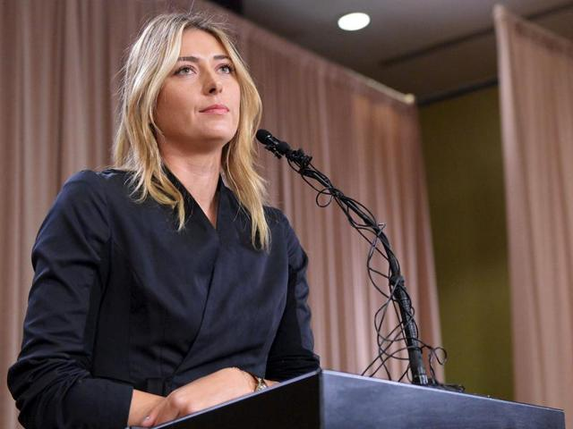 Won't retire in a hotel with an ugly carpet: Twitter reacts to Sharapova