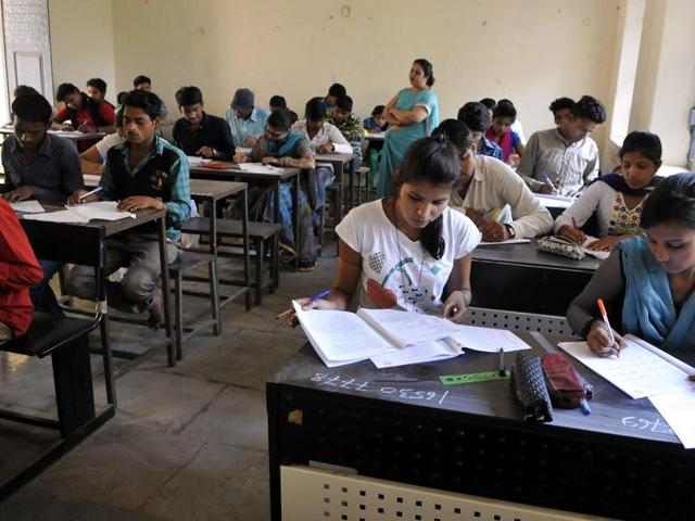 The government said exam paper setter and moderator  have been suspended and appropriate action has been taken on the issue.