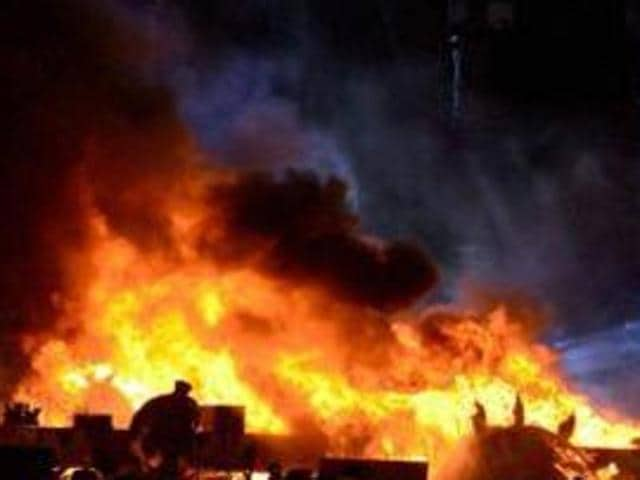 After the fire, police said, the local villagers got suspicious of the involvement of the accused and some even squarely blamed him. When this came to their knowlegde, the SSP said, police started its investigation .