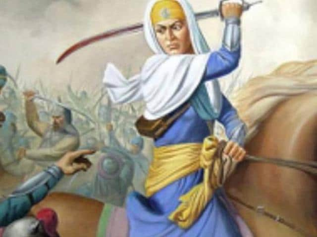 "The BBC quoted Mai Bhago as the 'little known legend' who embarrassed the 40 Sikhs for leaving Guru Gobind Singh in the middle of an impending war with the Mughals, ""into following her into battle""."