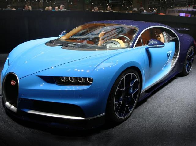 Bugatti Chiron: Blink and you miss it!