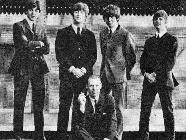 Martin produced all but one of the albums of The Beatles after signing them to Parlophone Records at a time when the band had been rejected by several labels.