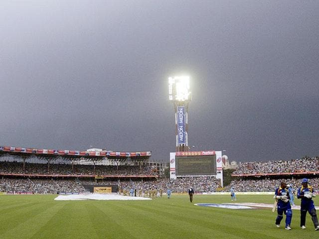 After days of speculation, the India-Pakistan World Twenty20 group match was shifted out of Dharamsala on Wednesday and allotted to Kolkata's Eden Gardens, also the venue for the final on April 3.