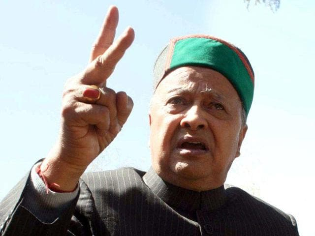 """Shiv Sena also questioned if the BJPwill label Himachal chief minister Virbhadra Singh """"anti-national"""" for opposing the match to be played in Dharamsala on March 19."""
