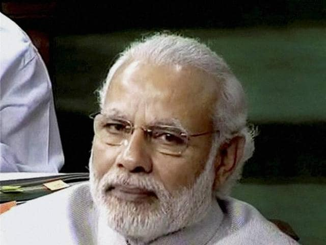 Prime Minister Narendra Modi criticised the Congress in his speech in the Rajya Sabha.