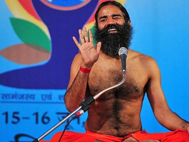 File photo of yoga guru Ramdev.