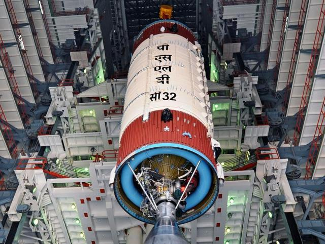 In pics | Isro readies to launch sixth navigation satellite today