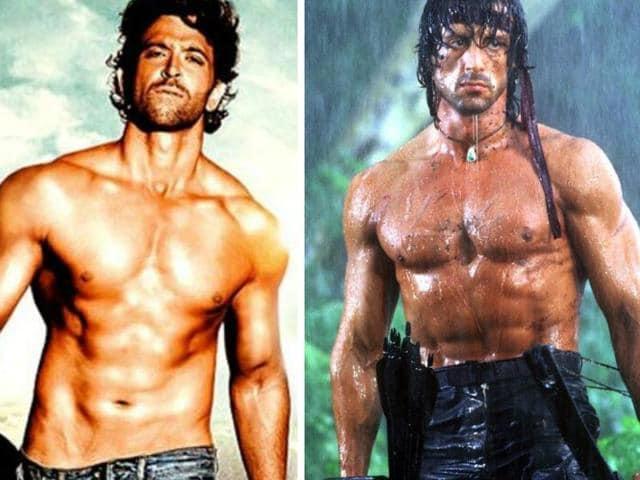 Hrithik Roshan,Sylvester Stallone,Rambo