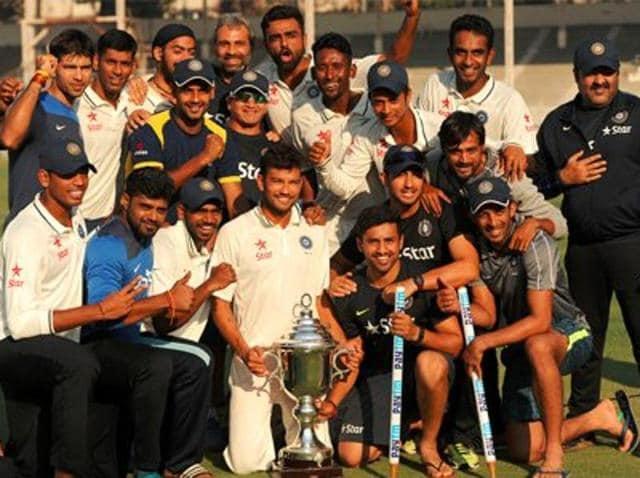Irani Cup 2016,Rest of India,Mumbai