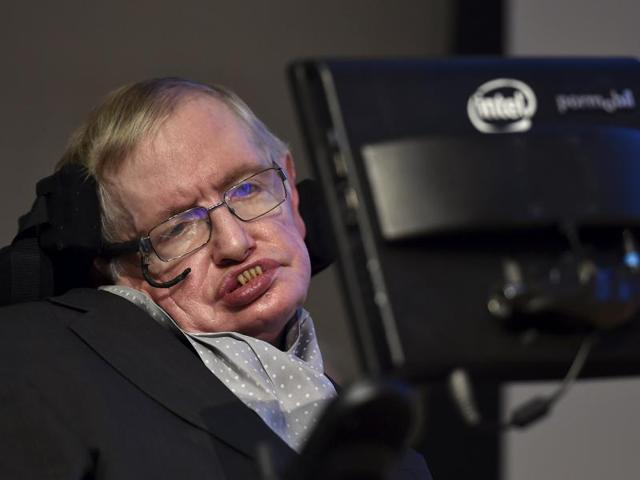 British scientist Stephen Hawking attends a launch event for a new award for science communication in London in December 2015.