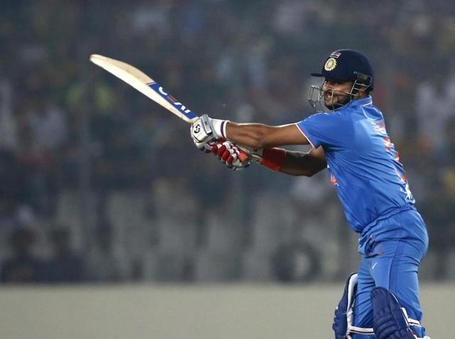 An analysis of Suresh Raina's stats scream out the reason for his struggle: Raina is not comfortable batting at No 4.
