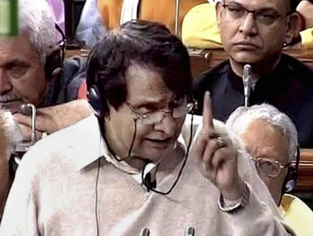 Rail budget 2016,Government passes rail budget,Railway minister Suresh Prabhu