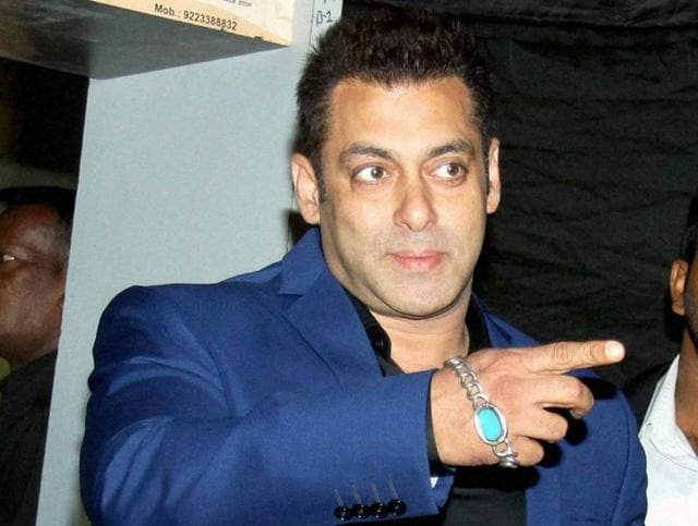 Bollywood actor Salman Khan appeared in court on Thursday to record his statement in Arms Act case.