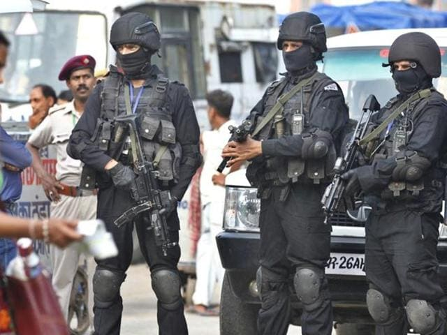 File photo of NSG Commandos.
