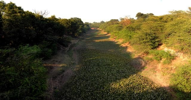 The land, over 5,000 acres, had been acquired from the farmers almost four decades ago.