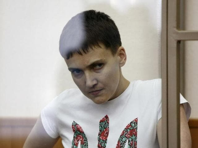 Nadezhda Savchenko,Ukrainian pilot in Russia,Russian trial