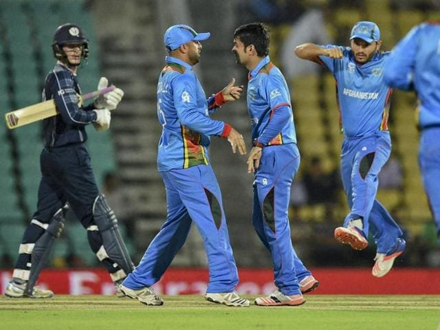 Afghanistan stretched their T20I record against Scotland to 6-0 with their 14-run win on Tuesday.