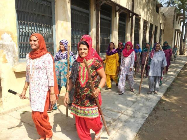 sarpanch,School Education Haryana,Bhiwani