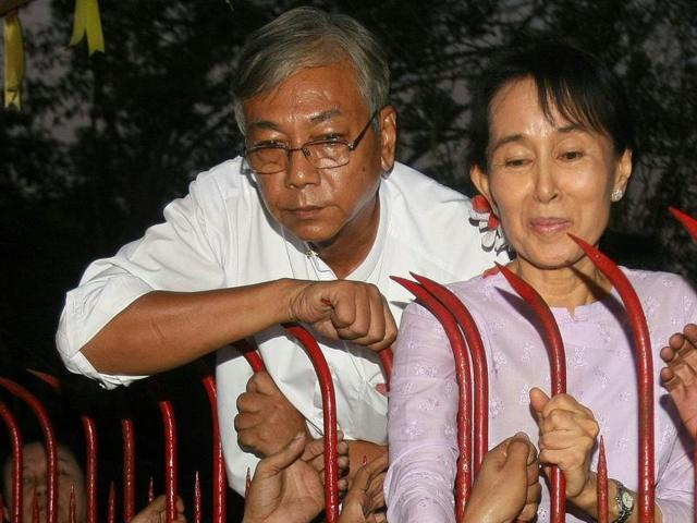 Suu Kyi's school friend and ex-driver gears up for Myanmar rule