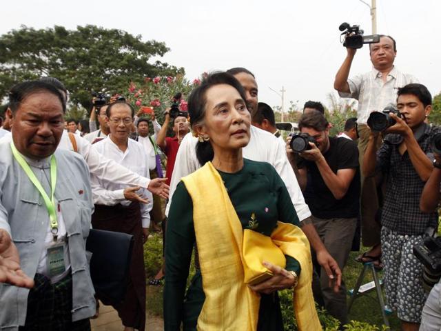 Aung San Suu Kyi,Myanmar,NLD