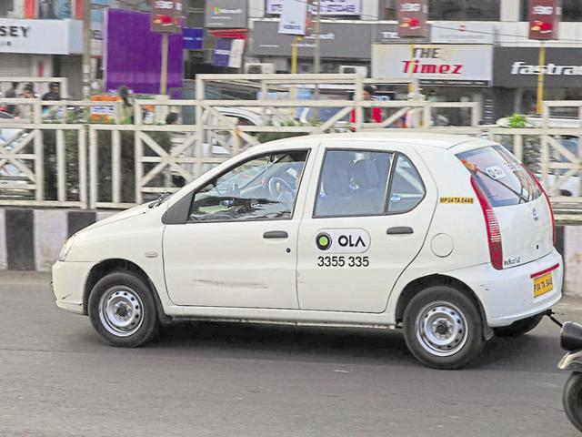 Till now, only Ola cab service is available in Noida and Gurgaon.