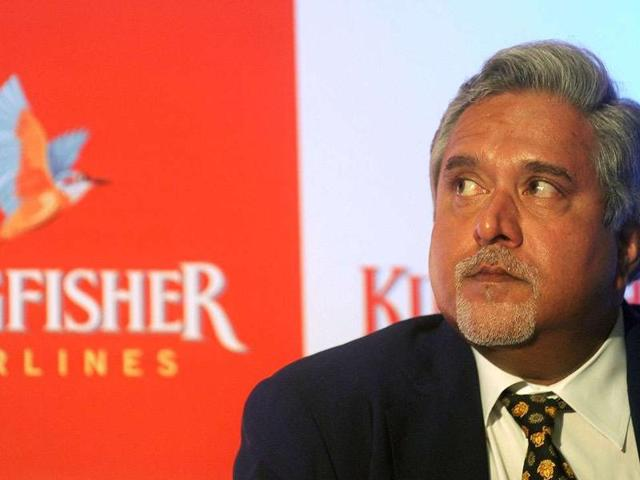 File photo of Vijay Mallya, chairman and CEO of  Kingfisher Airlines.  Mallya left India last Wednesday in spite of a Look Out Circular  against him for his alleged role in the Rs 9,000 crore loan default case.