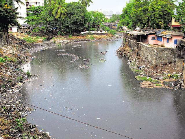 Poisar river's pollution 100 times higher than safe limit