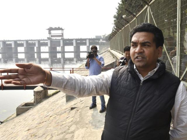 Delhi min asked for another pontoon bridge for Art of Living event