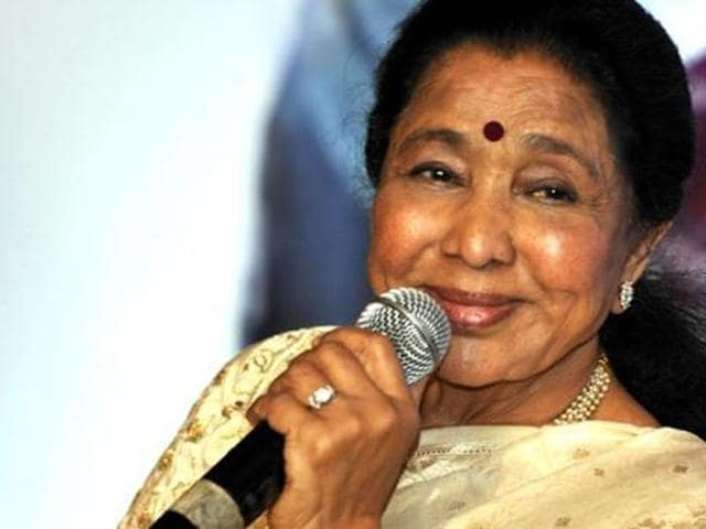 Asha Bhosle isn't kicked about the concept of a biopic being made on her life. (AFP)