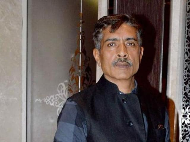 Prakash Jha played a corrupt cop in Jai Gangaajal. (HT Photo)