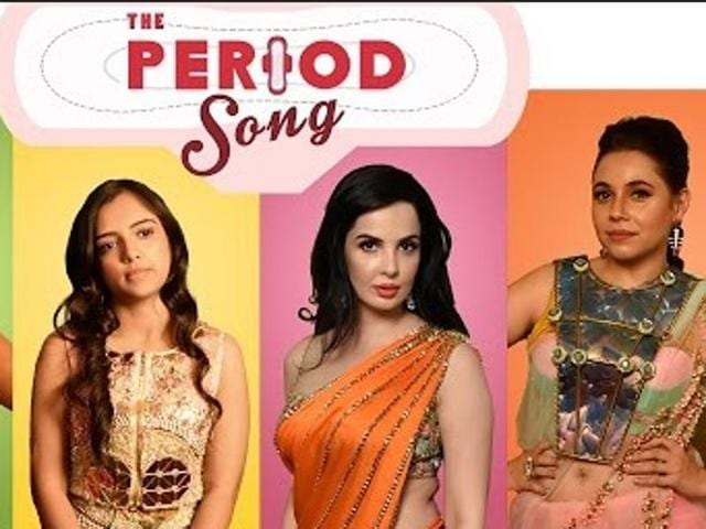 The Period Song targets every single stereotype related to periods.