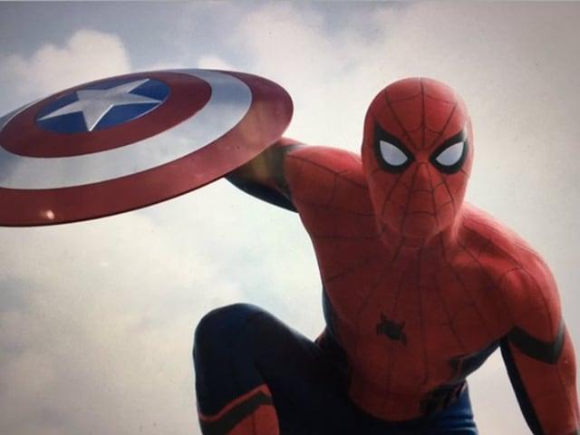 Meet Spider-Man, Underoos to friends, in Captain America Civil War trailer.