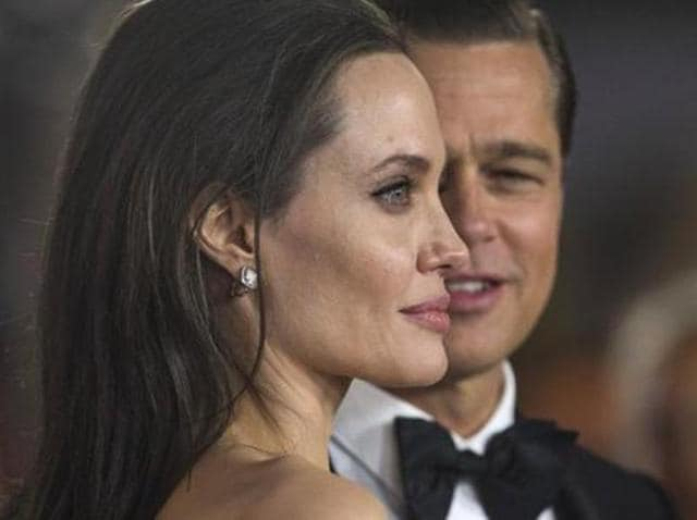 Angelina Jolie and Brad Pitt at the By the Sea premiere.