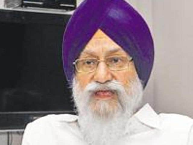 Shiromani Gurdwara Parbandhak Committee president Avtar Sigh Makkar.