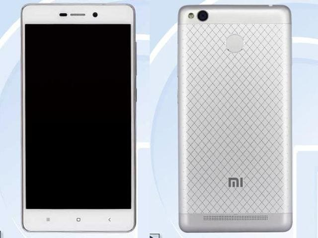 A new variant of the Redmi 3 smartphone with a fingerprint scanner spotted online on a Chinese certification site.