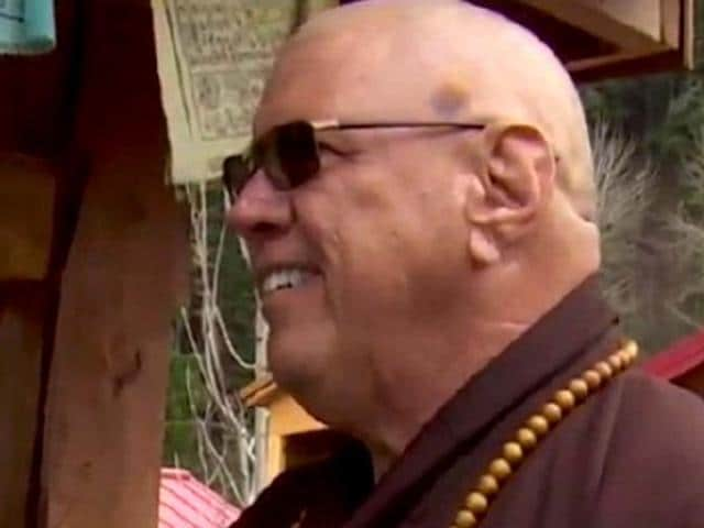 Kozen Sampson, a Buddhist monk, was attacked by a man who mistook him for a Muslim