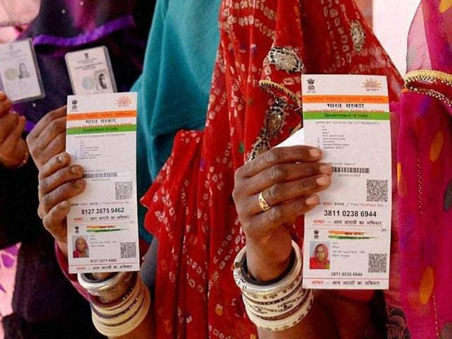 Aadhaar card and the benefits coming with it will be given to every person who has stayed in India for 182 days in the year preceding the date of application.