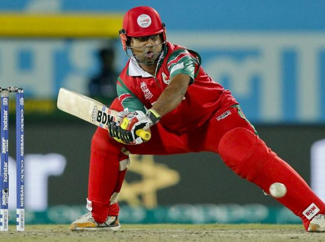 Amir Ali played a breezy knock of 32 to take Oman to victory against Ireland at Dharamsala.