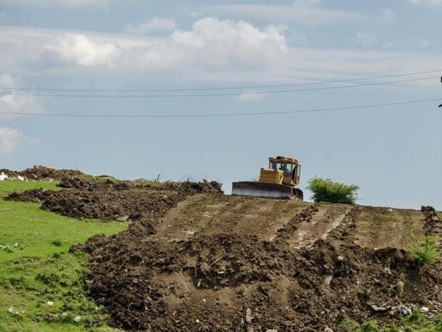 Worker buried alive