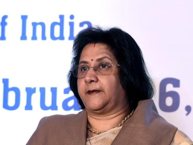 At an event on Friday, SBI chairperson Arundhati Bhattacharya avoided any reference to the bank's exposure to Kingfisher Airlines promoted by Vijay Mallya.