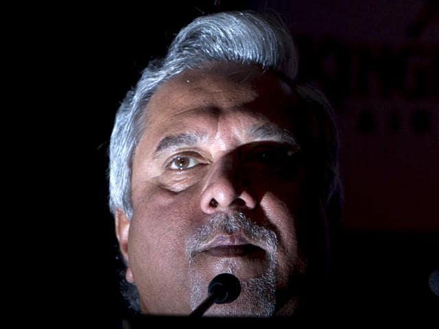 File photo of Vijay Mallya at the 'Kingfisher Ultra Indian Derby 2016' party in Mumbai. Industry speculates that he may start a liquor business in the UK.