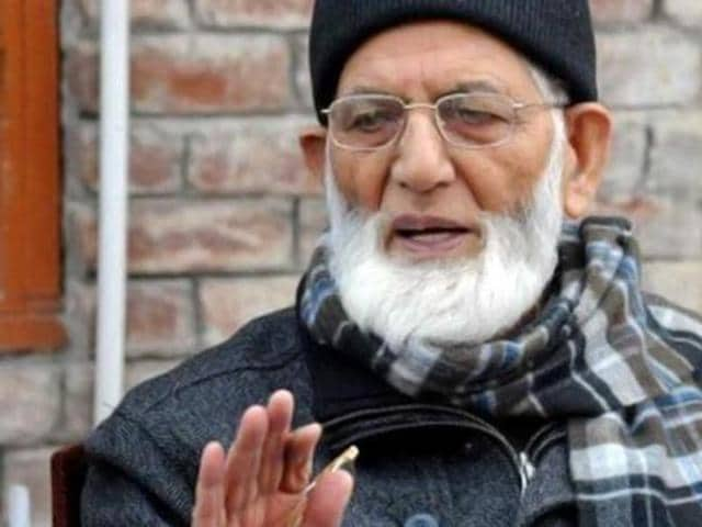 Kashmiri separatist leader Syed Ali Shah Geelani, who is admitted in a south Delhi hospital after blacking out  in his Delhi home, is stable.