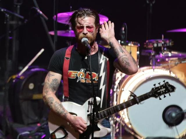 Jesse Hughes and his US rock group Eagles of Death Metal were playing at the Bataclan music hall in Paris when the Islamic State attack in Paris took place in November 2015.