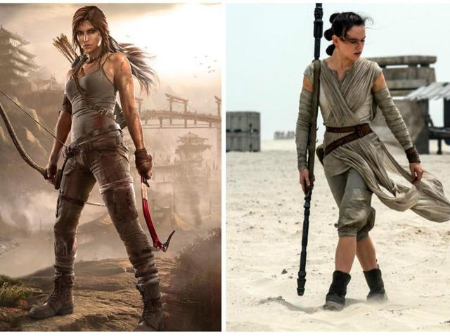 The latest iteration of Lara Croft and Rey.